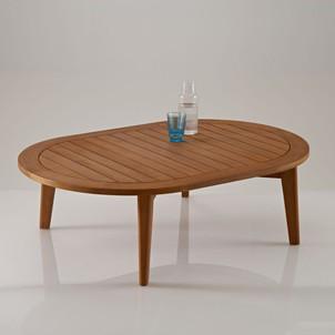 Table basse de salon vintage - bois d'acacia