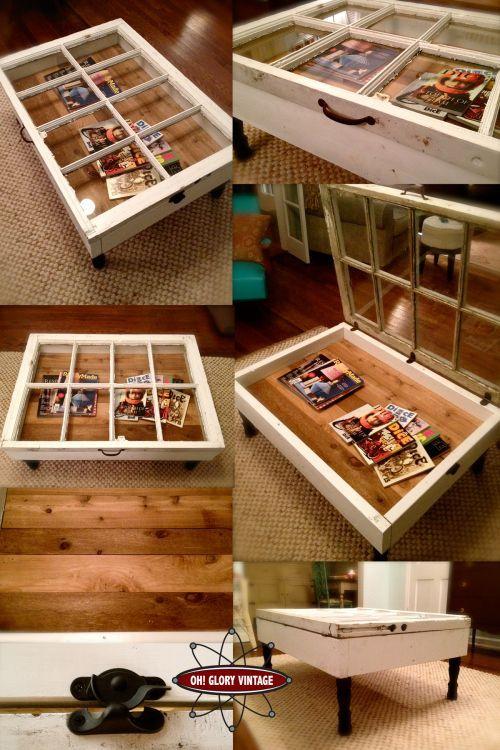 Table basse vintage casa