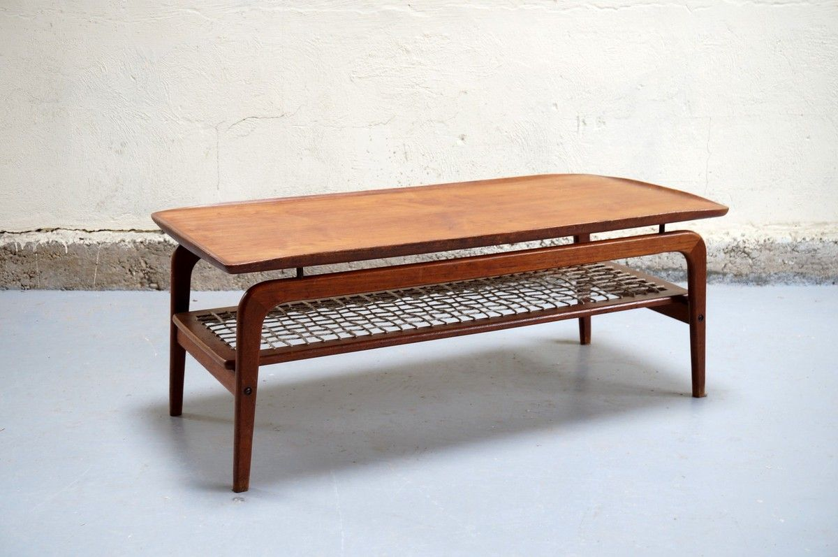 Table basse vintage design