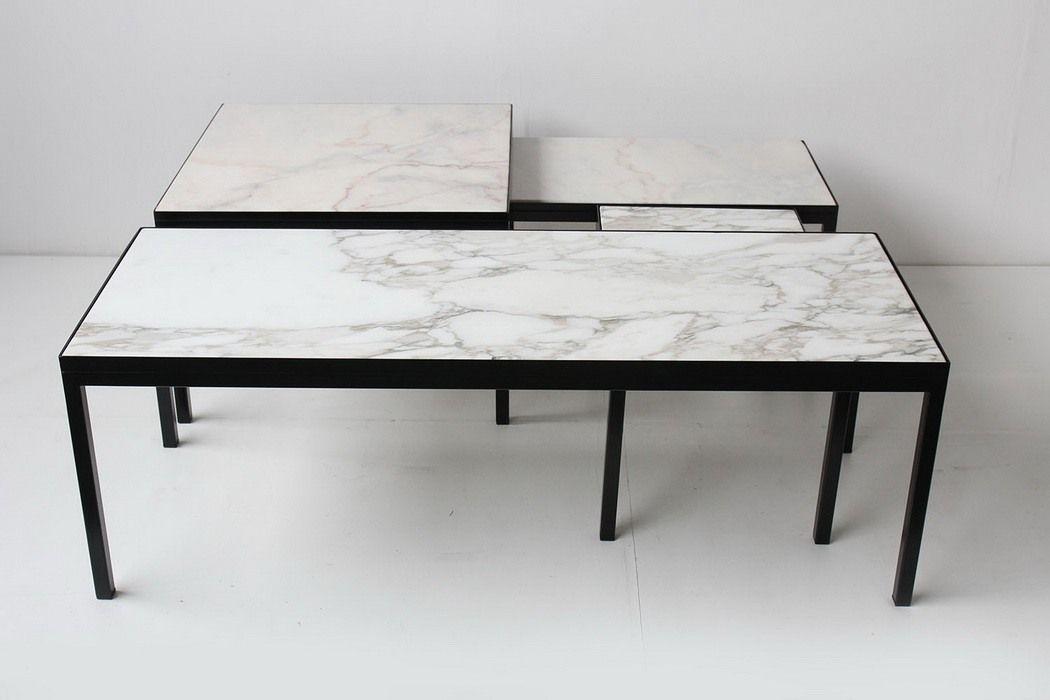 Table basse marbre italien