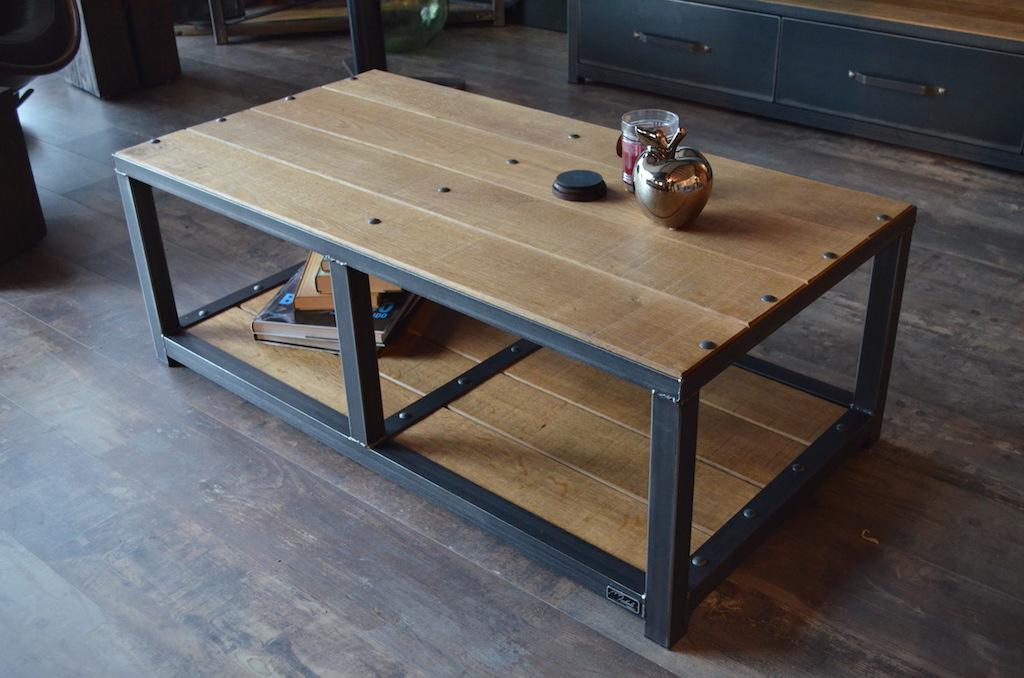 Vente table basse industrielle