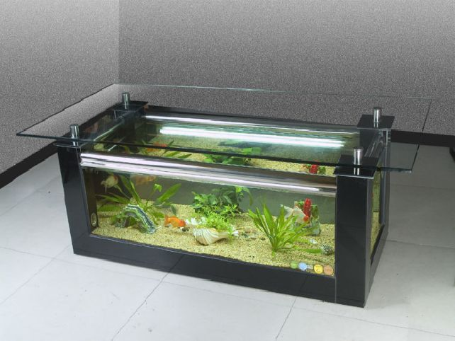 Table basse aquarium amazon