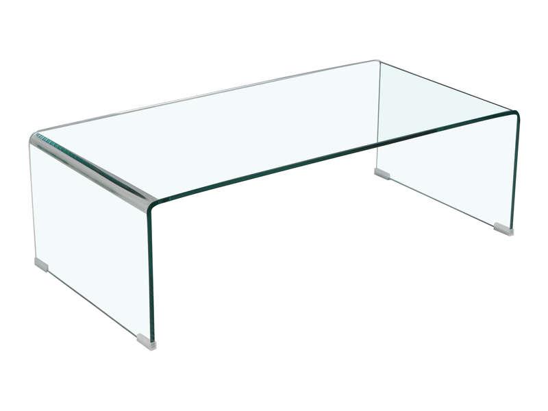 Table basse en verre securit