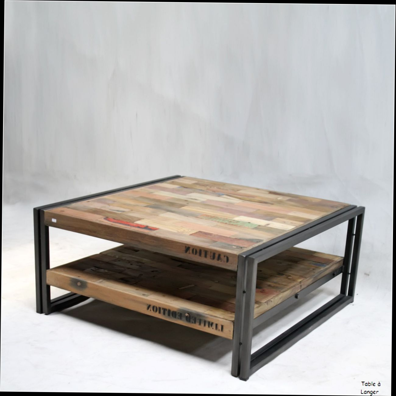 Table basse industrielle montreal