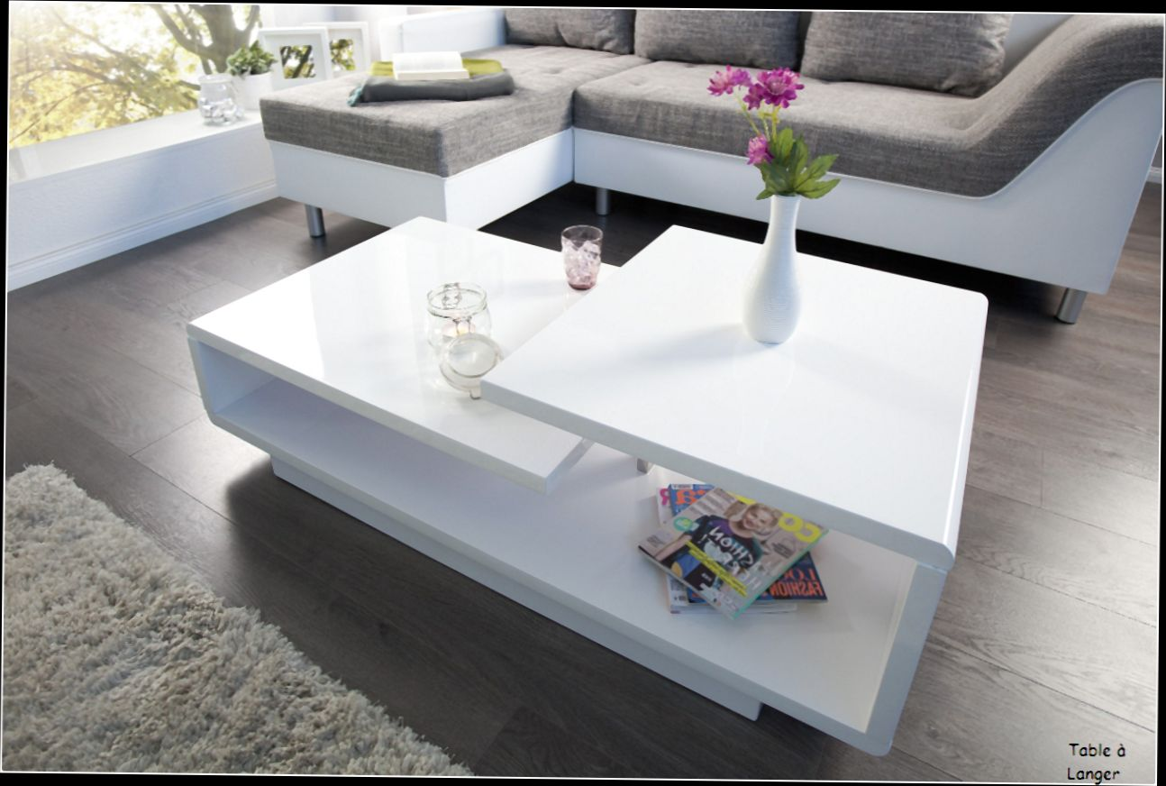 Table Basse En Verre Relevable Design Idee De Maison Et Deco
