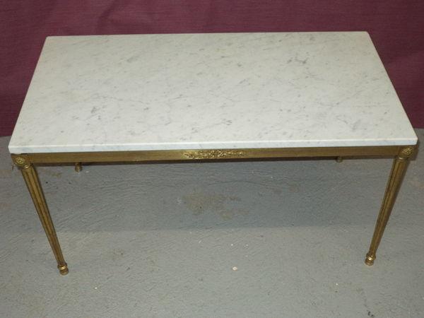 Table basse en marbre de luxe