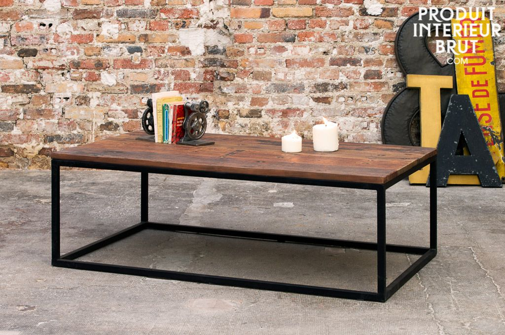 Faire sa table basse industrielle