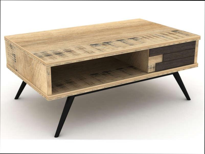 Table basse alinéa bois