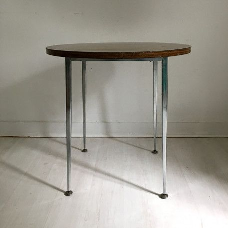 Table basse formica vintage 70