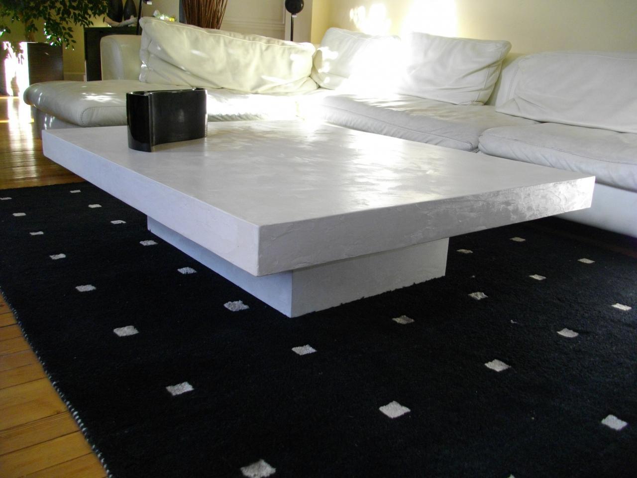 photos officielles 85b60 f0208 Table basse carrée grand format - Idée de maison et déco