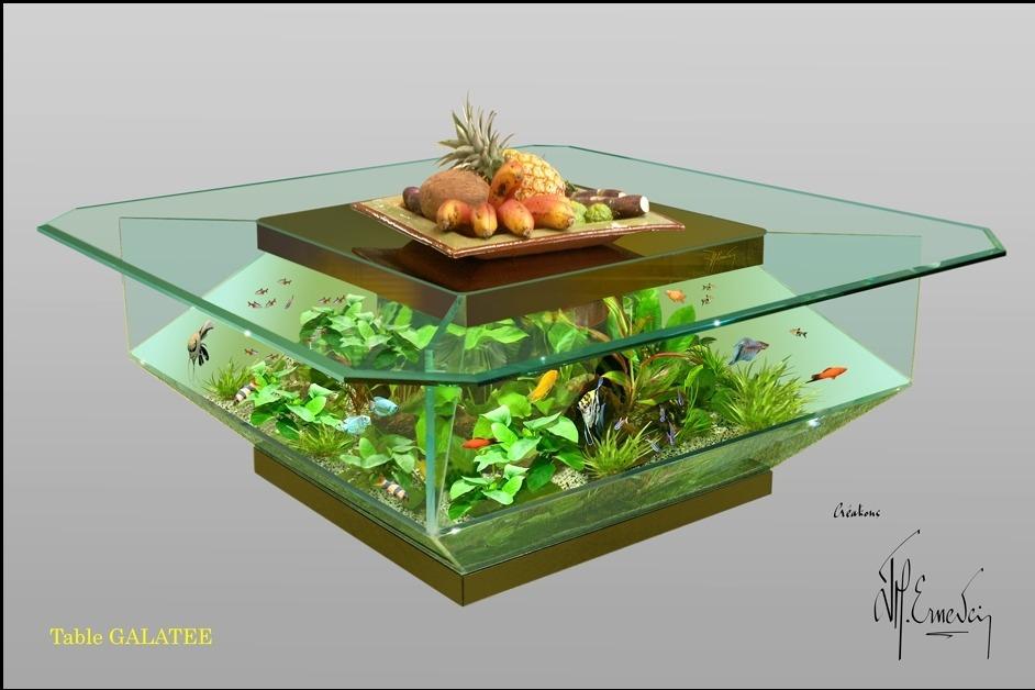 Table basse aquarium avis