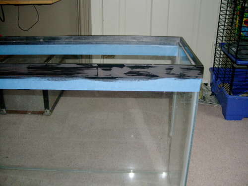 Comment realiser une table basse aquarium