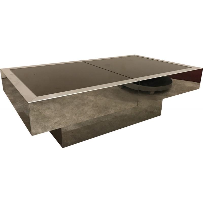 Table basse bar vintage