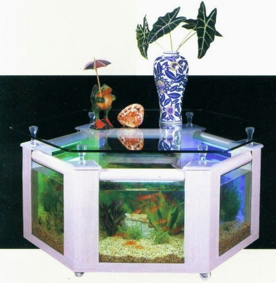Table basse aquarium promo