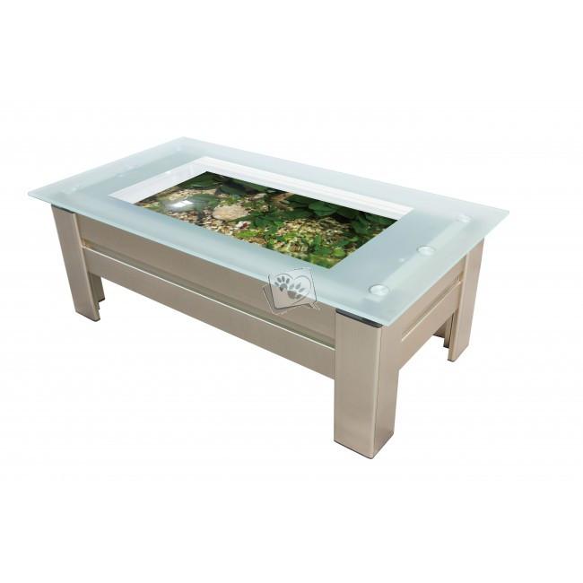 Table basse aquarium discount