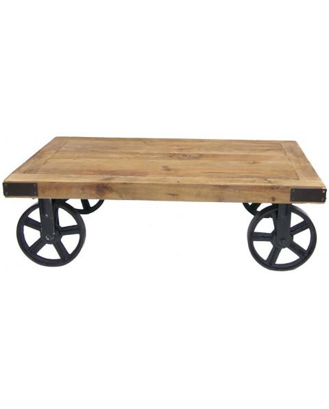 Table basse type industrielle