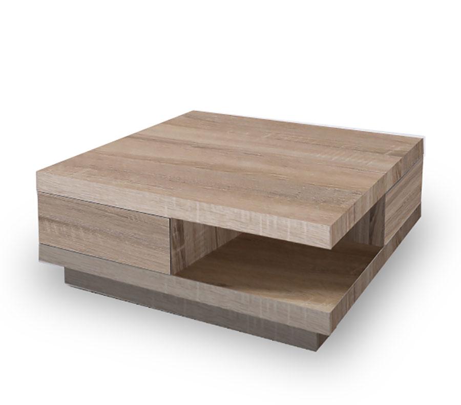 Table basse carrée moderne