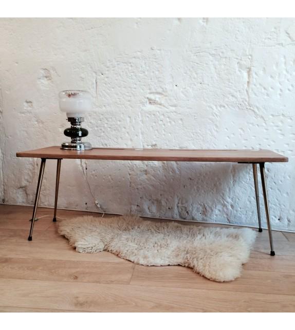 Table basse compas vintage