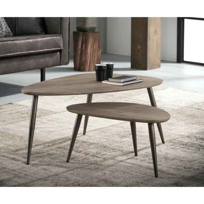 Table basse gigogne design rek