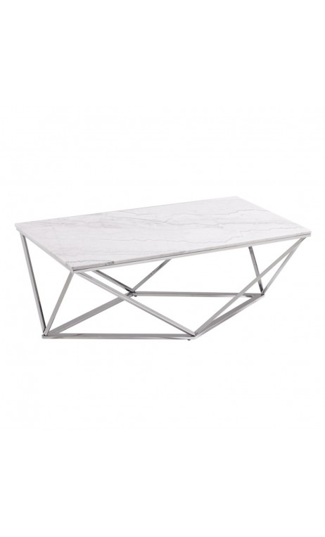 Table basse marbre moderne