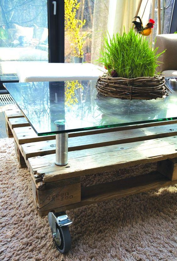 Créer une table basse en verre