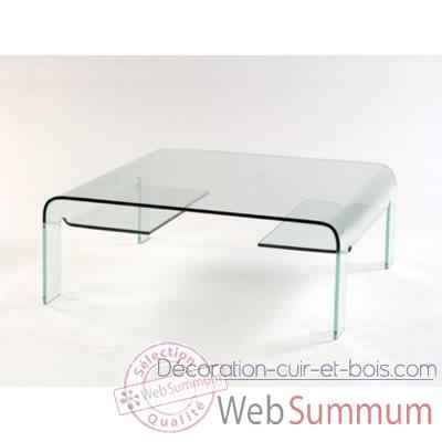 Table basse en verre ou plexi