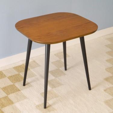 Table basse vintage pieds compas