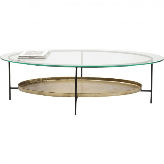 Table basse en verre kare