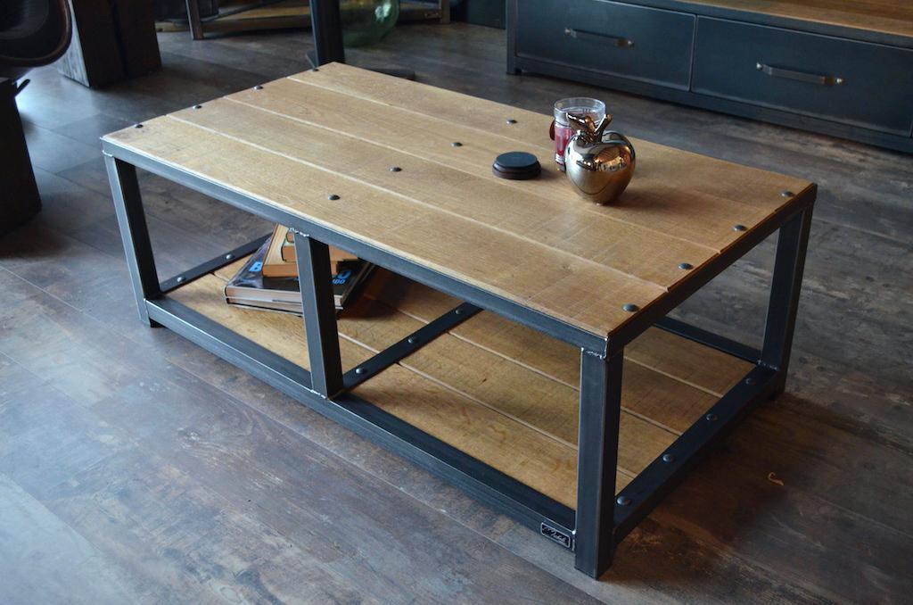 Table Basse Style Industriel La Redoute Idée De Maison Et Déco