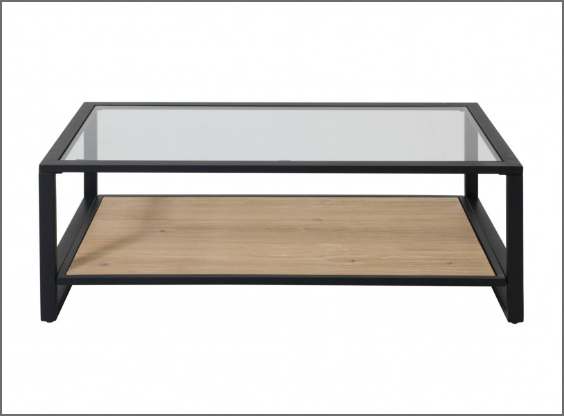 Table basse joko en verre