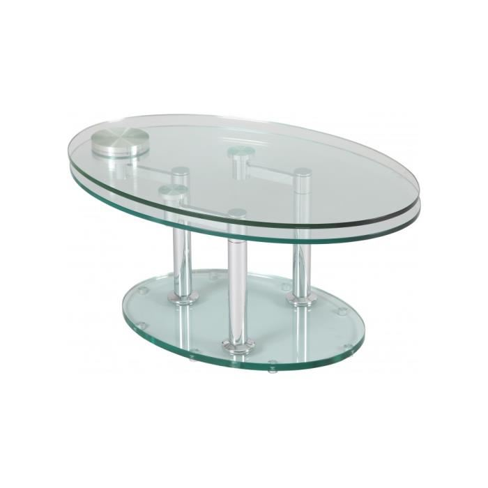 Table basse en verre image