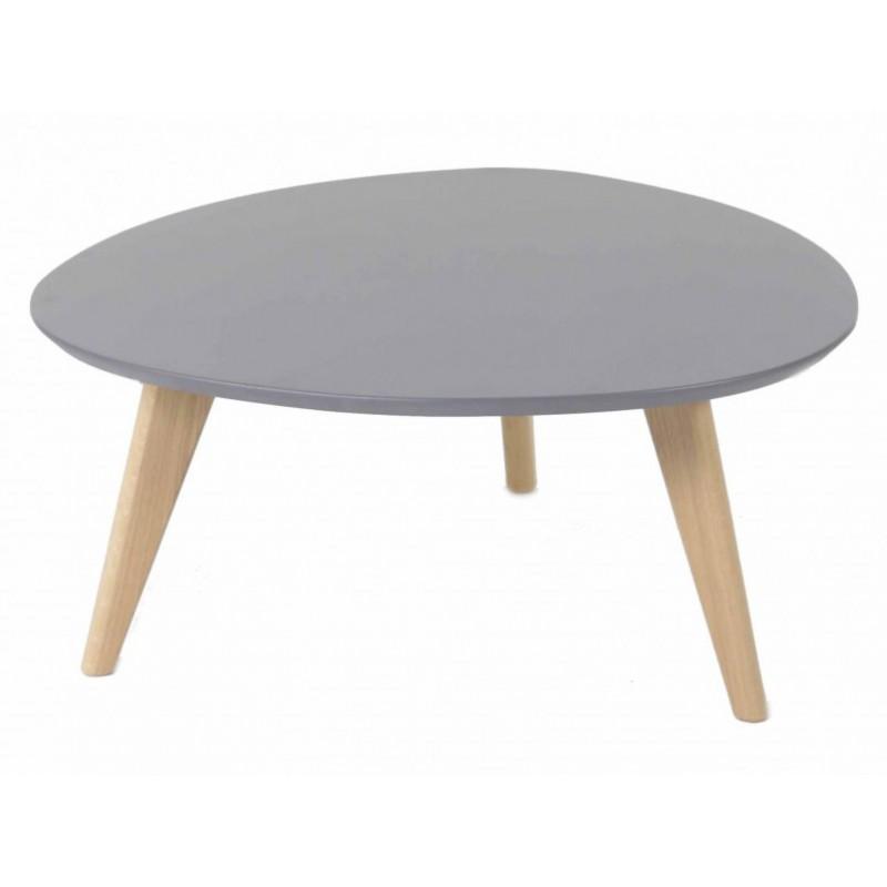 Table basse vintage colore