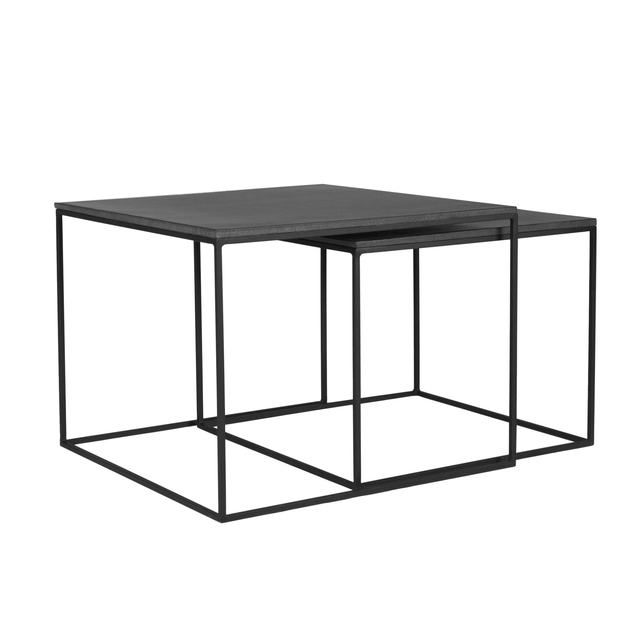 Table basse carrée gigogne