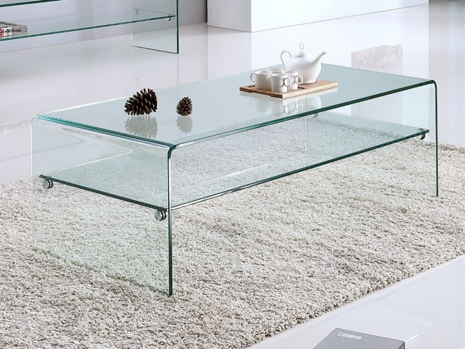Table basse verre vente unique